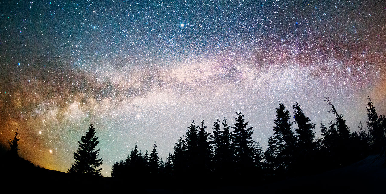image night sky
